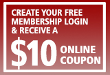 create free membership and receive $10 coupon