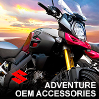 suzuki adventure accessories