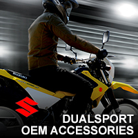 suzuki dual sport oem accessories