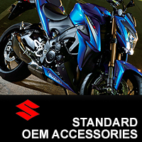 suzuki standard oem accessories